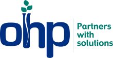 This is the OHP Inc. Logo